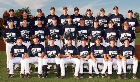 The MVNU baseball team received the NCCAA World Series Sportsmanship Award