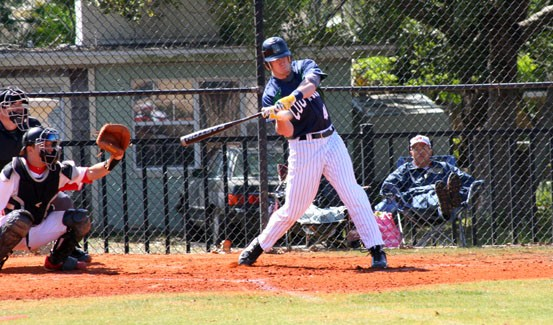 Sophomore outfielder Jake Dickerson was named to the NCCAA All-American Second Team