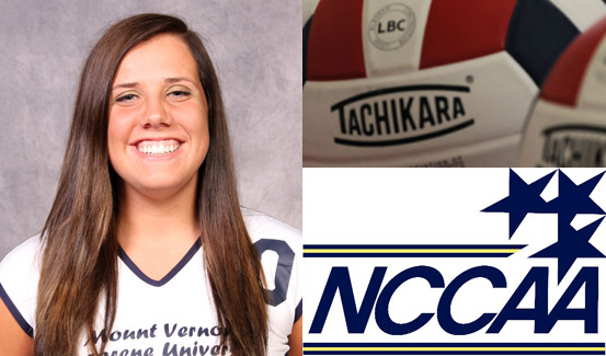 Kendra Votaw was named to the NCCAA All-American Second Team