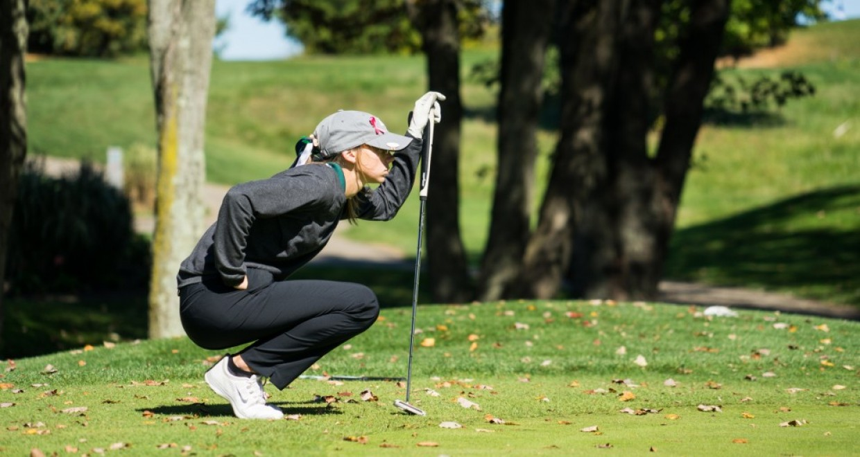 Photo for Lady Cougars Improve Two Spots on Second Day at Swan Lake