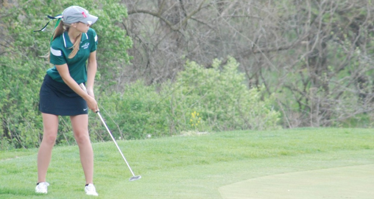 Photo for Women's Golf Finishes Day One at Swan Lake Intercollegiate
