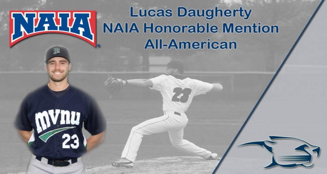 Photo for Daugherty Grabs NAIA Honorable Mention All-American Accolades