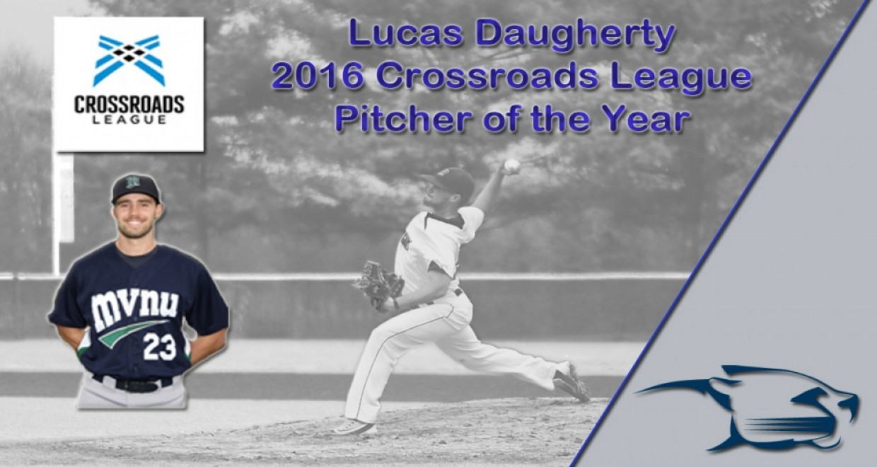 Photo for Seven Cougars Earn All-Crossroads League Honors, Daugherty Pitcher of the Year
