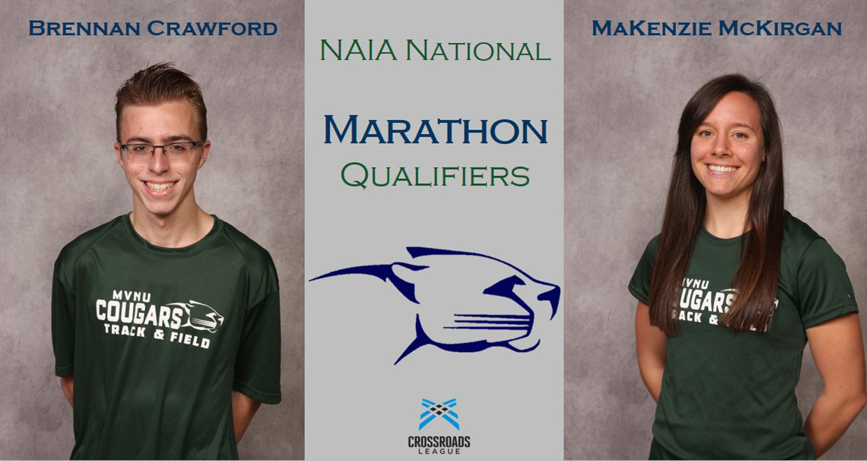 Photo for Crawford And McKirgan Qualify For NAIA Marathon