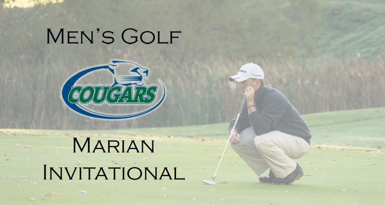 Photo for Men's Golf Finishes Marian Invite in 5th