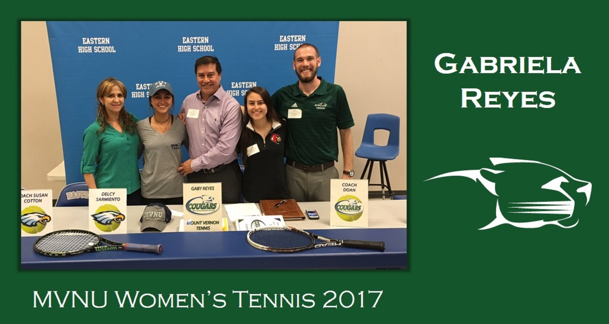 Photo for Women's Tennis Adds Reyes for 2017