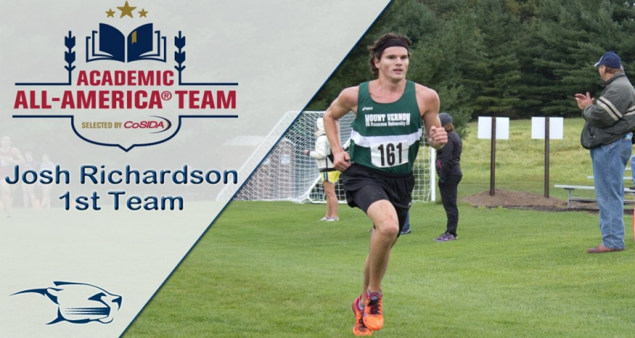 Photo for Richardson Selected to CoSIDA Academic All-American 1st Team