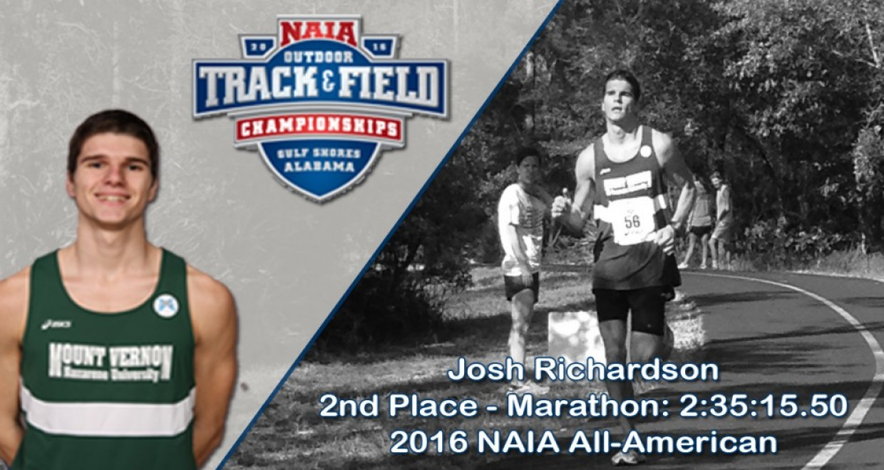 Photo for Richardson Places 2nd in NAIA Marathon, Earns All-American Honors
