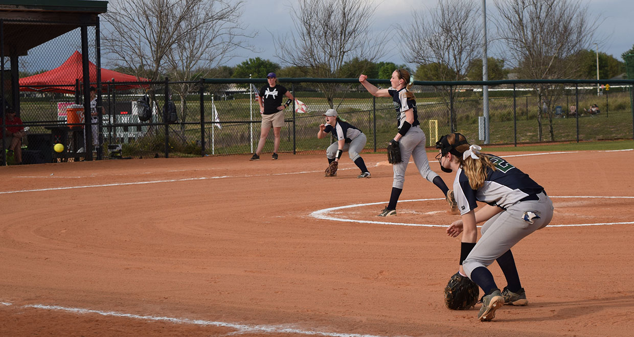 Photo for Lady Cougars Split At Spring Arbor