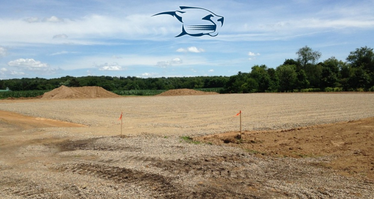 Photo for Construction of New MVNU Tennis Courts Underway