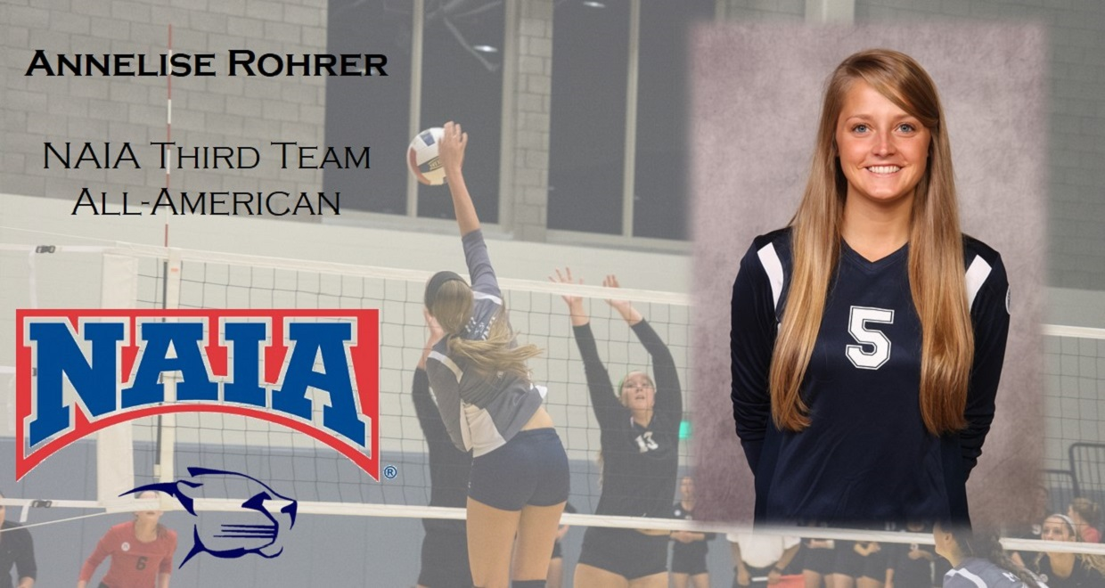 Photo for Rohrer Earns All-American Honors