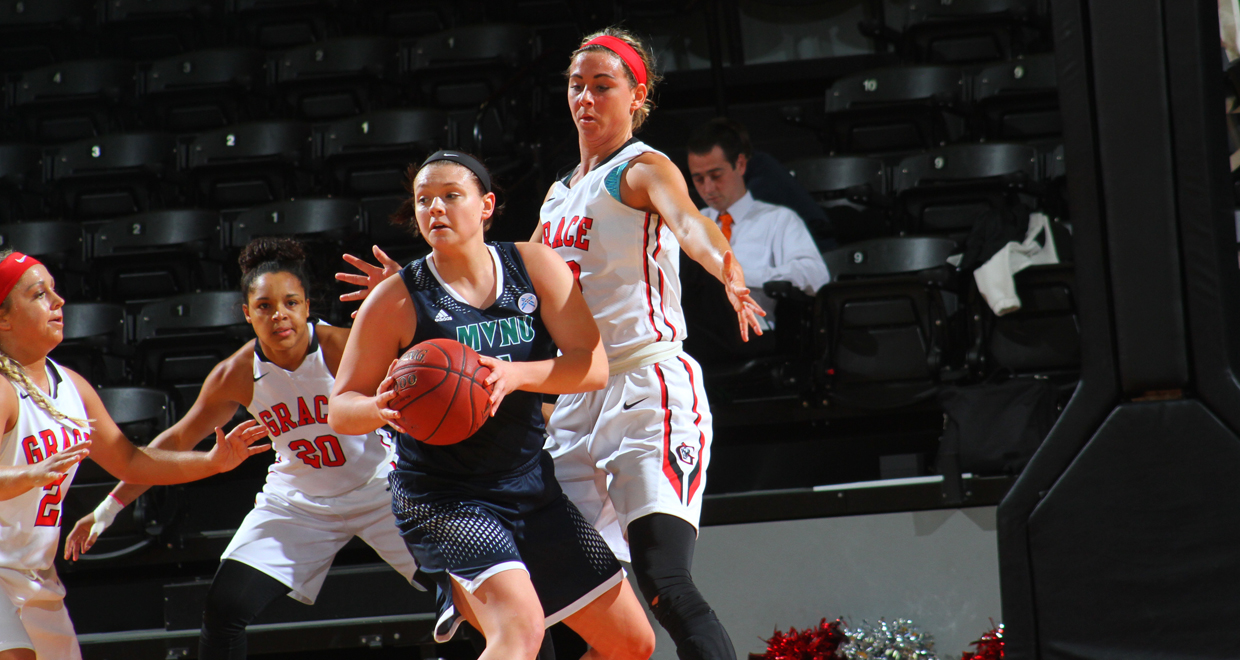 Freshman Kaela Seiler scored a career-high 16 points vs. SAU.