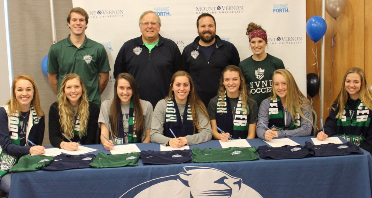 Mvnu Women S Soccer Announces 2017 Recruiting Class Mount Vernon