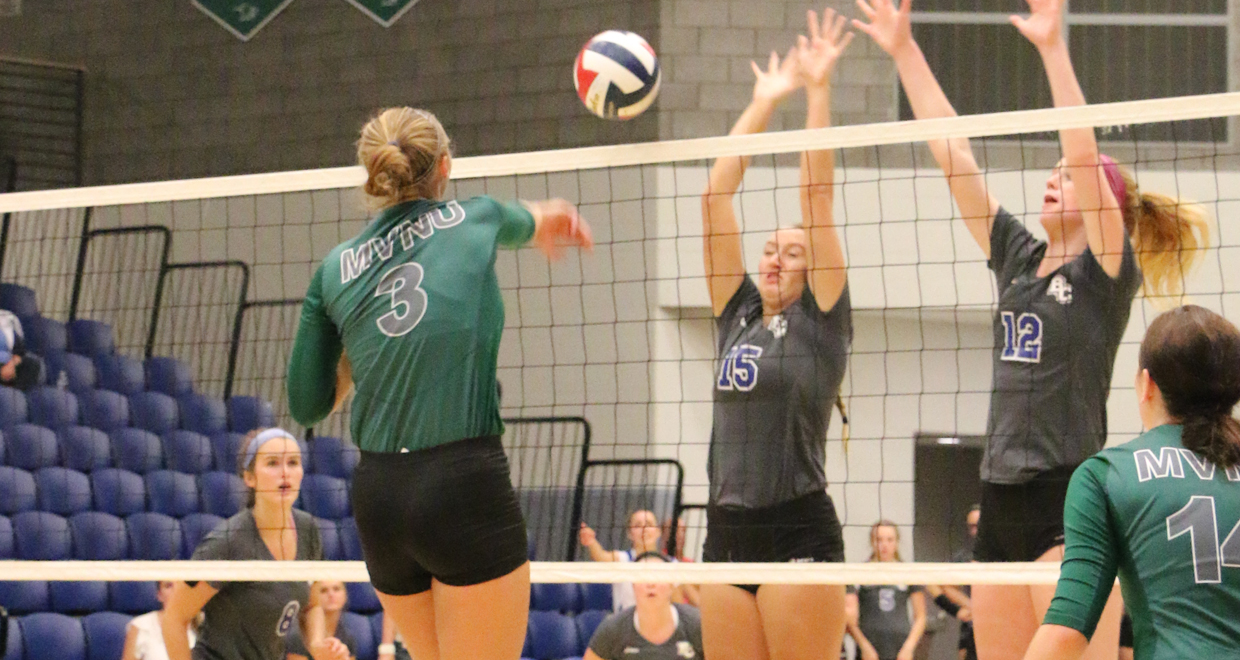 Photo for Five Set Volleyball Thriller Goes the Way of Spring Arbor
